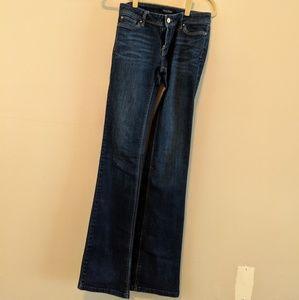 White House Black Market Boot Leg Jeans